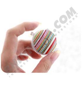FIT Patterns Neck Cell Phone Strap - Stripe Vivid Color [106-163030] - Gantungan Handphone